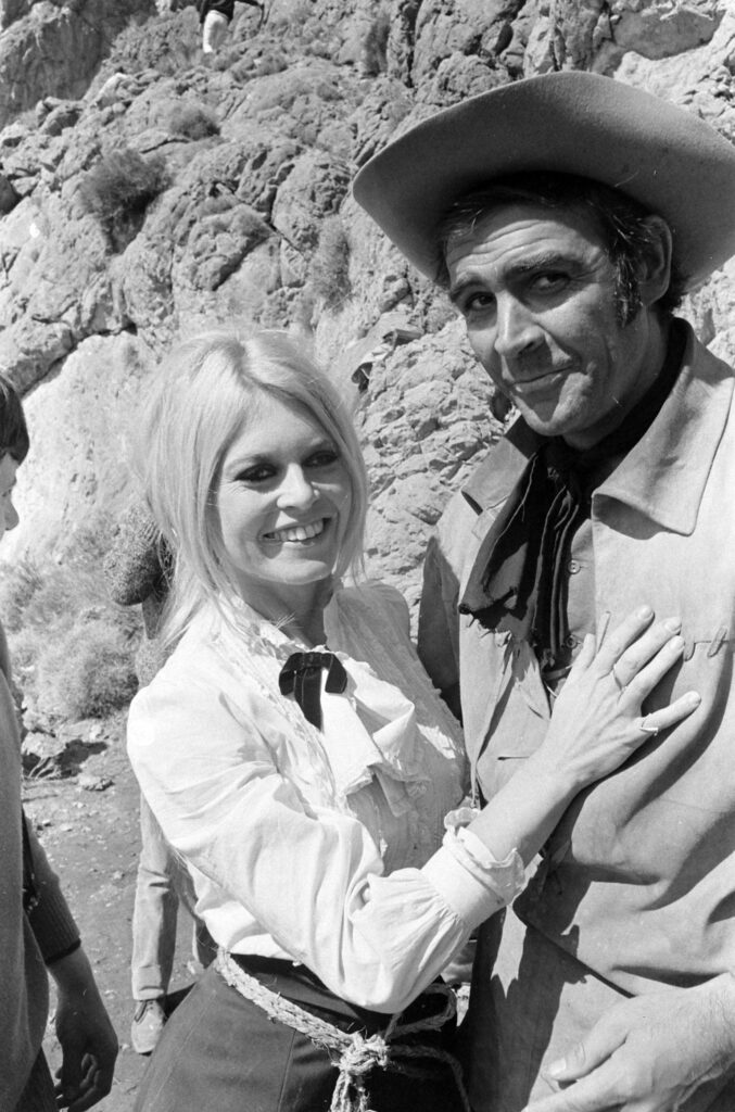 """Sean Connery on set of the film """"Shalako,"""" 1968 (Bill Ray/LIFE Picture Collection)"""