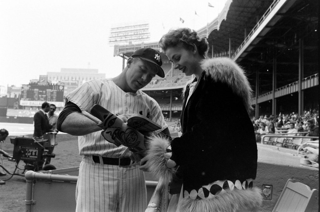 Miss Alaska and Mickey Mantle