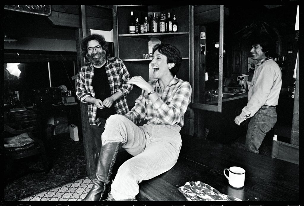 Jerry Garcia and Joan Baez