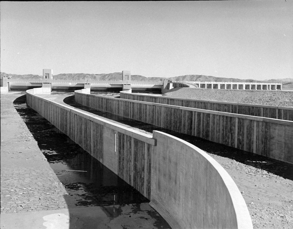 Imperial Dam in California. (Photo by Horace Bristol/The LIFE Picture Collection © Meredith Corporation)