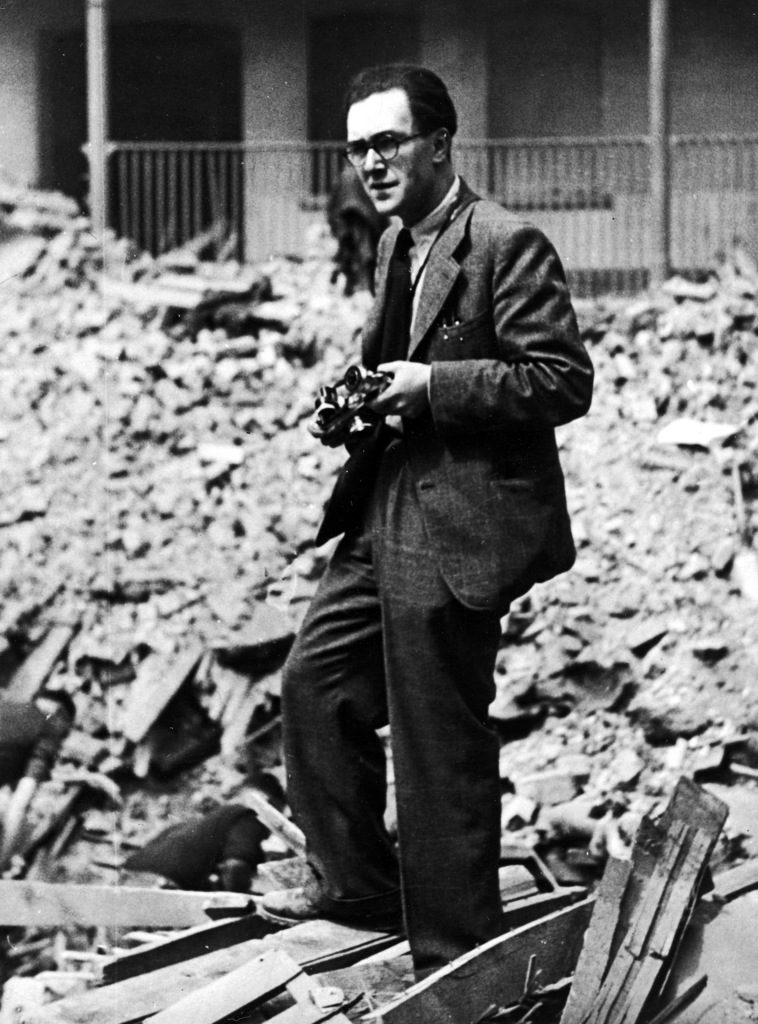 Hans Wild with his camera. (Photo by Hans Wild/The LIFE Images Collection)