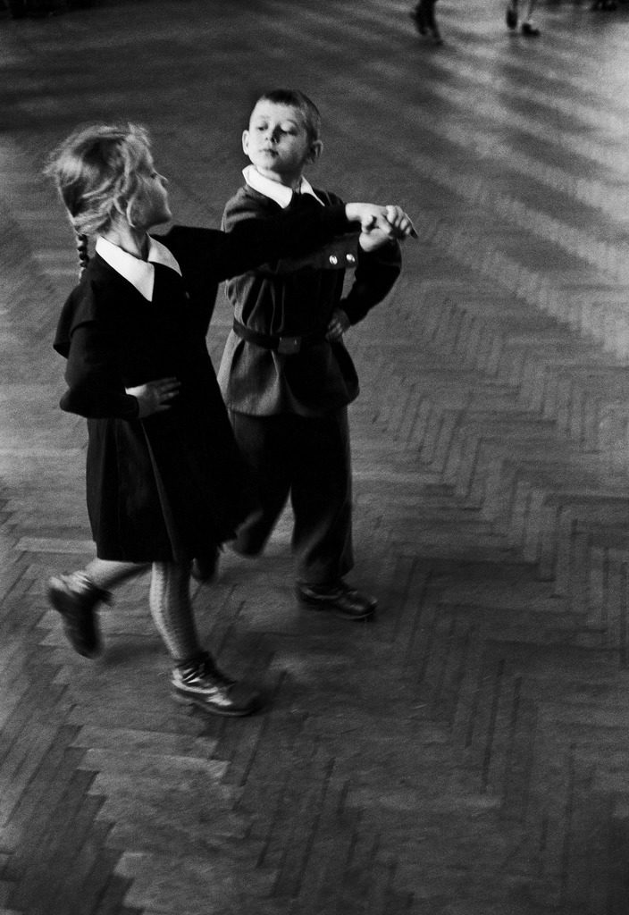 Public school students taking rhythmic dance class. (Photo by Howard Sochurek/The LIFE Picture Collection © Meredith Corporation)