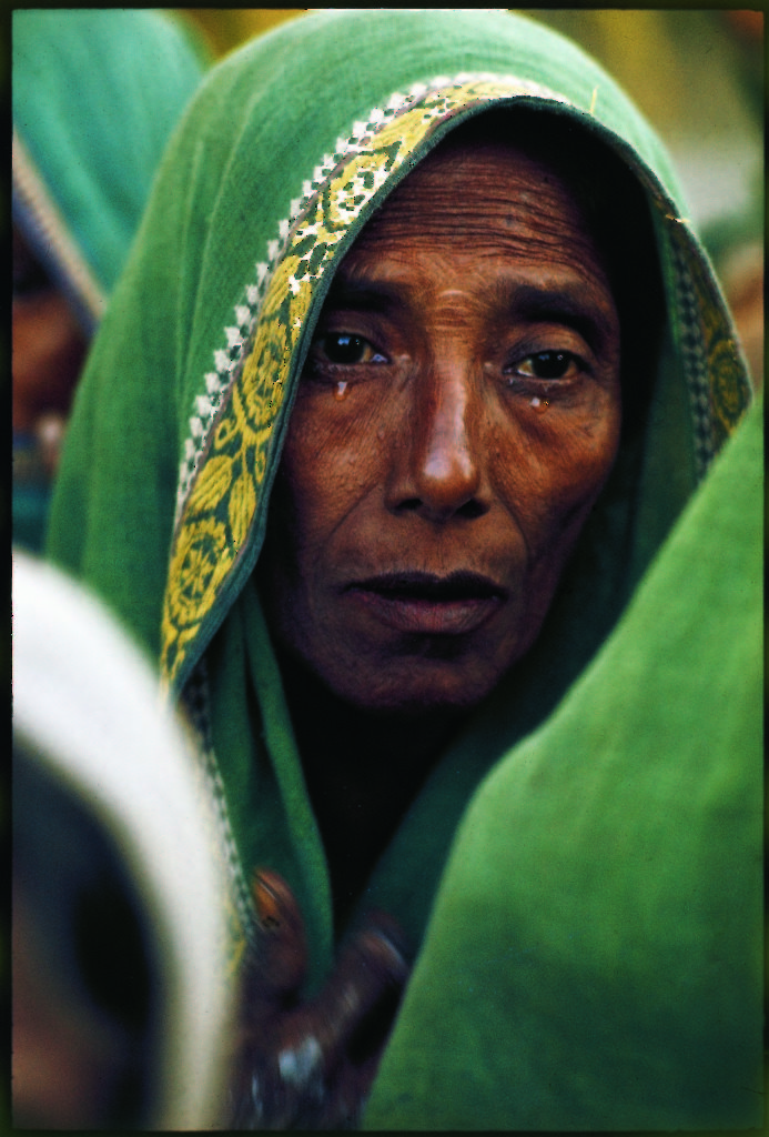 Cyclone survivor, East Pakistan, 1970. (Photo by Larry Burrows/The LIFE Picture Collection © Meredith Corporation)