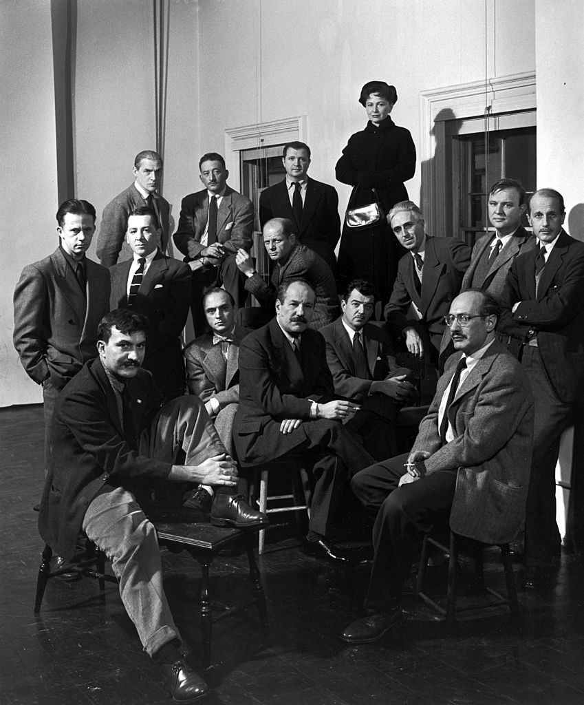 Portrait of a group of American abstract artists, collectively know as 'The Irascibles.' (Photo by Nina Leen/The LIFE Picture Collection © Meredith Corporation)