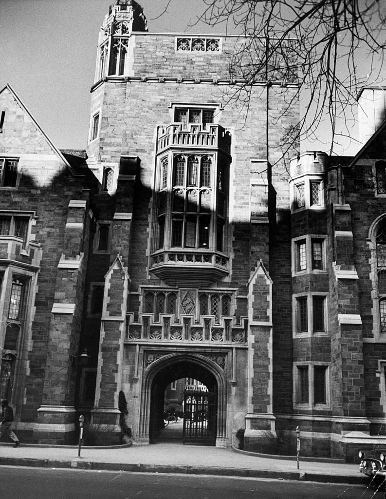 Yale University. (Photo by Yale Joel/The LIFE Picture Collection © Meredith Corporation)