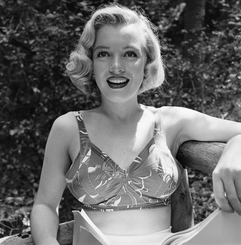 Marilyn Monroe, 24, in Griffith Park, Los Angeles, 1950.