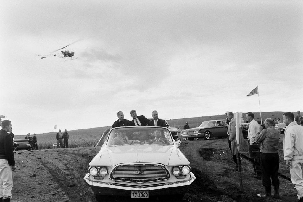 John F. Kennedy campaign, 1960.
