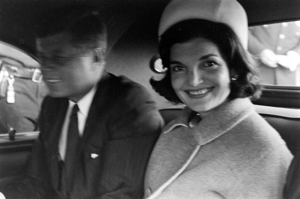 John F. Kennedy and Jackie Kennedy, 1960.
