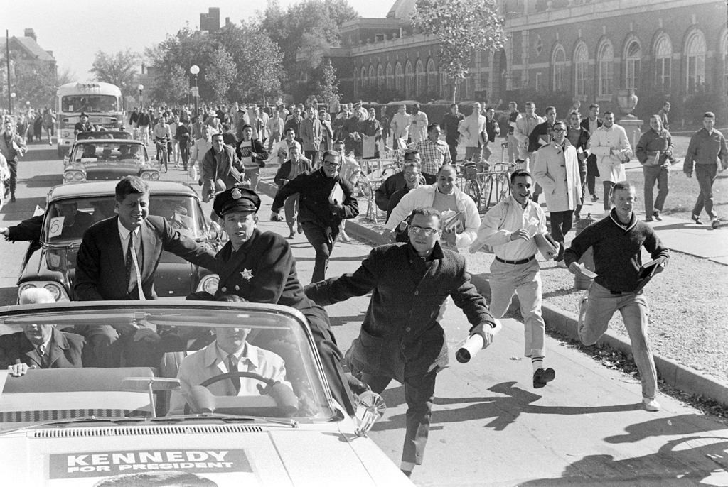 John F. Kennedy campaign, 1960
