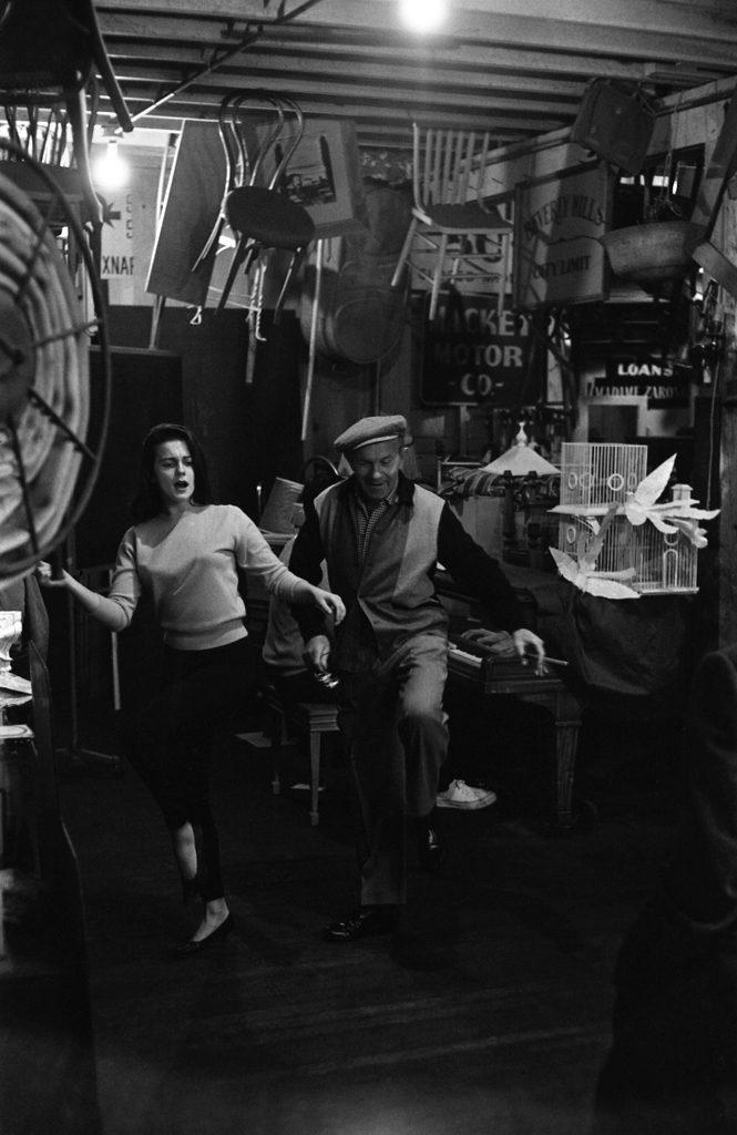 Ann-Margret and George Burns