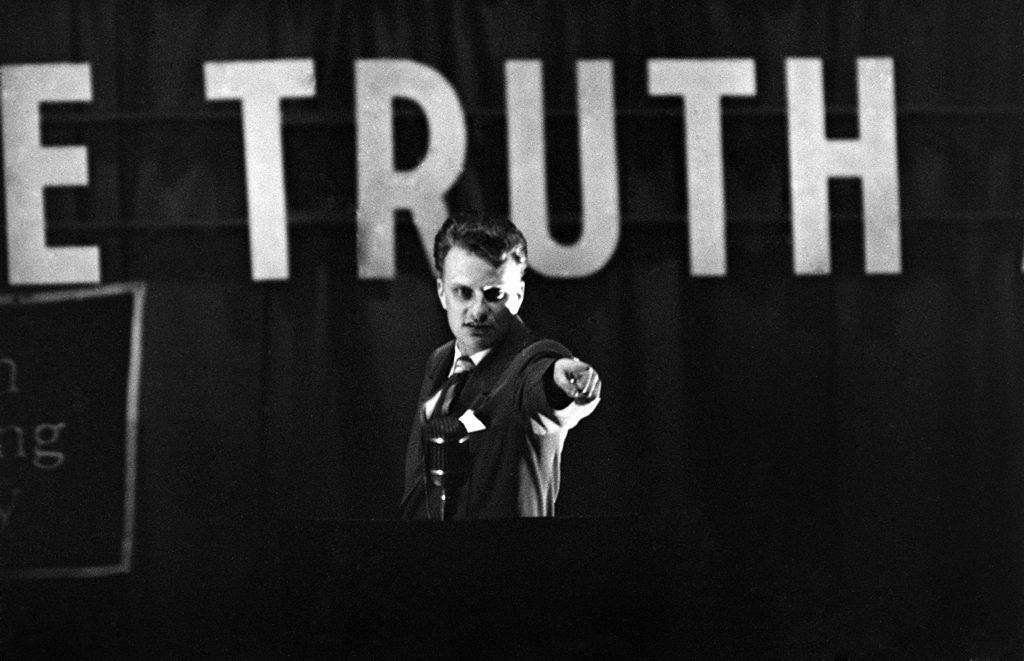 Billy Graham, Washington, D.C., 1952.