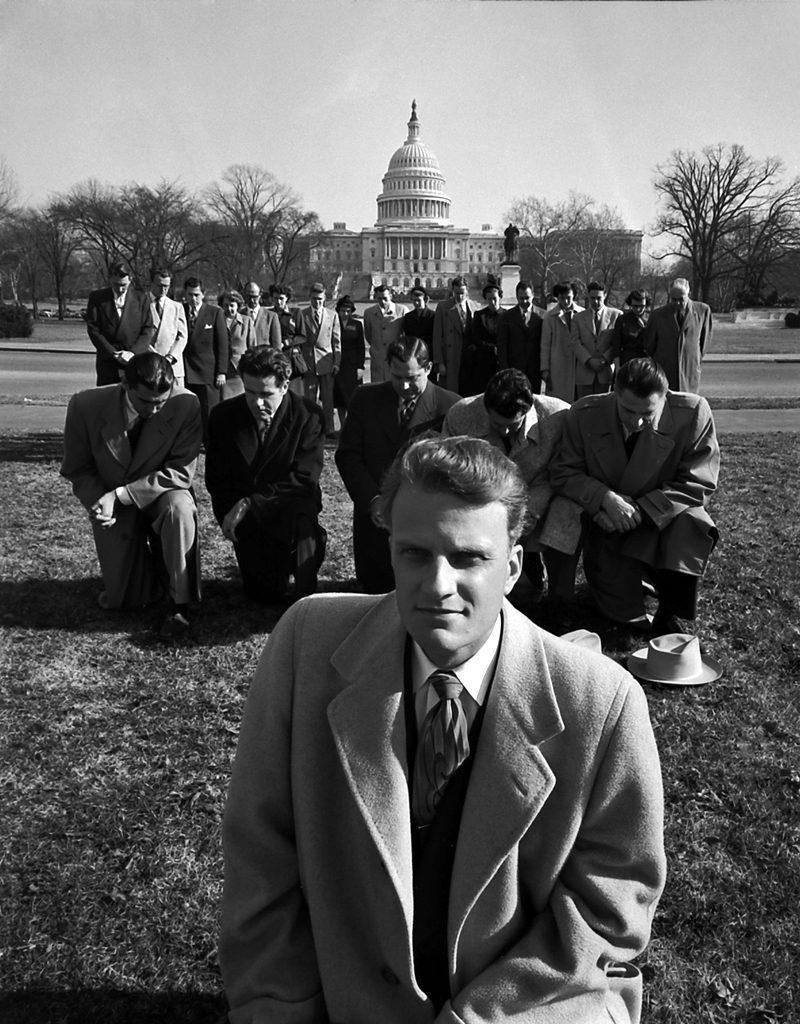 Billy Graham in Washington, D.C., 1952.
