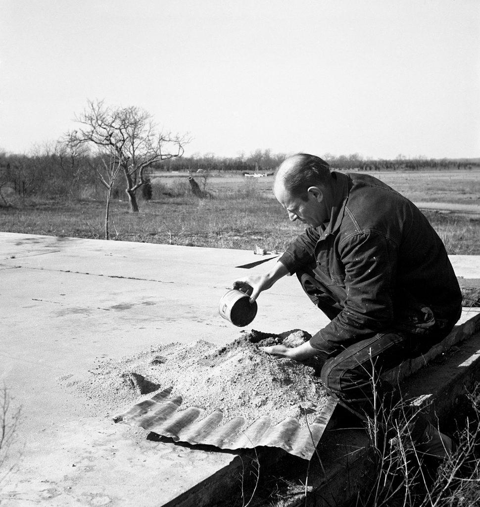 Jackson Pollock, Long Island, 1949.