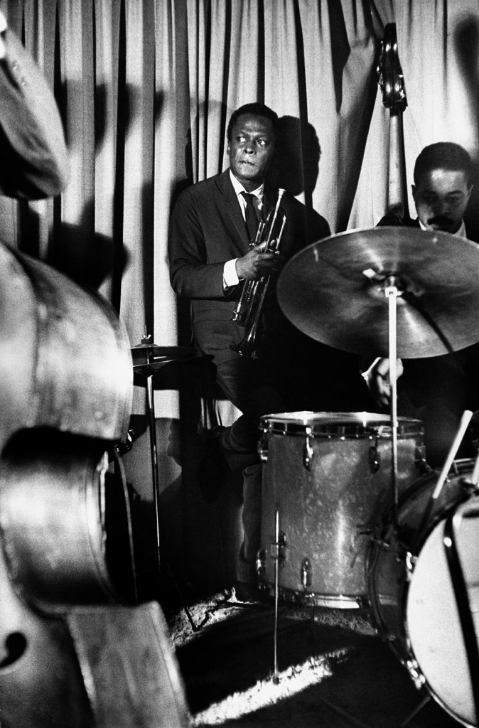 Picture of jazz drummer Jimmy Cobb