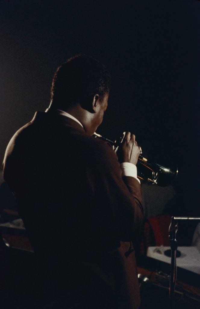 Miles Davis plays in a nightclub in New York