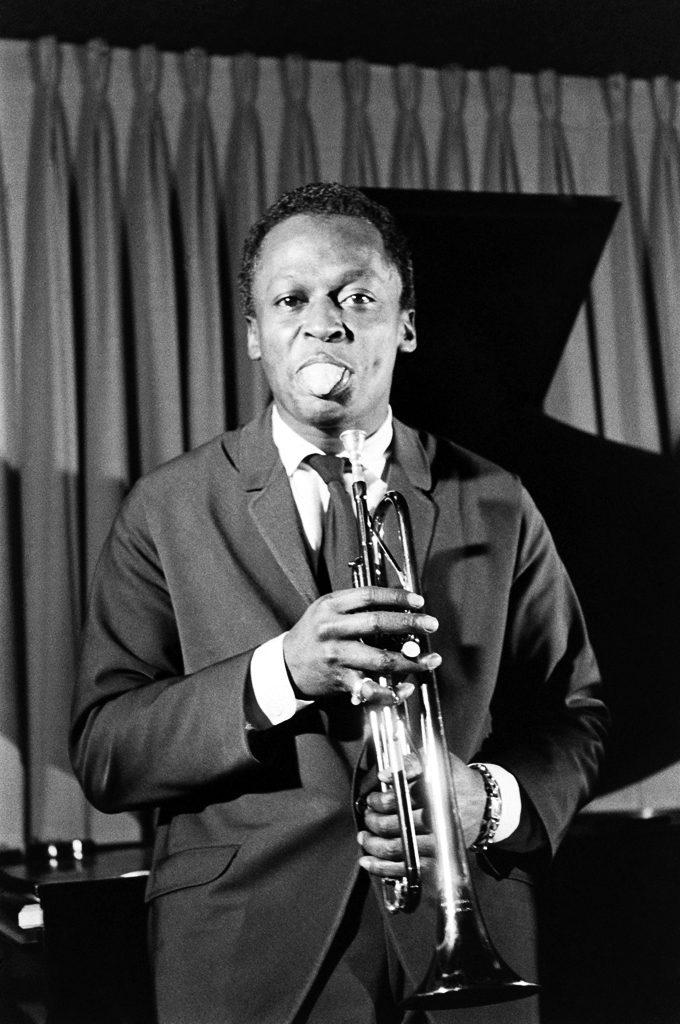Picture of Miles Davis in 1958