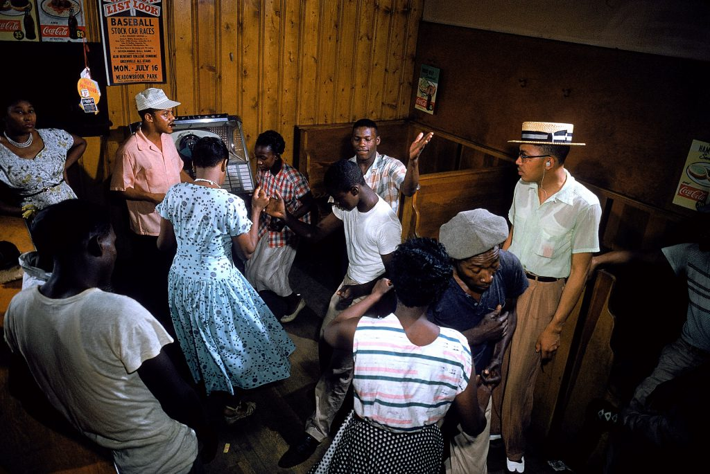 A night out at a juke joint, S. Carolina, 1956.