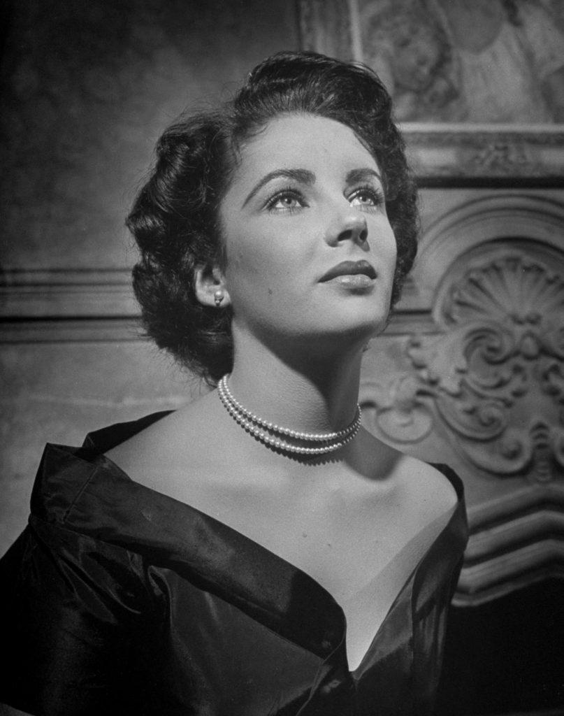 Elizabeth Taylor in 1947, age 15