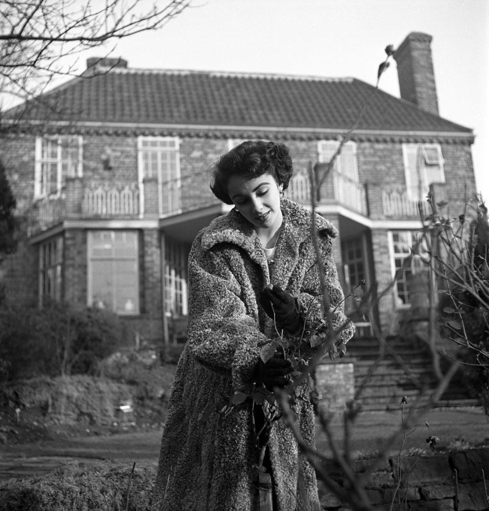Elizabeth Taylor in 1948.
