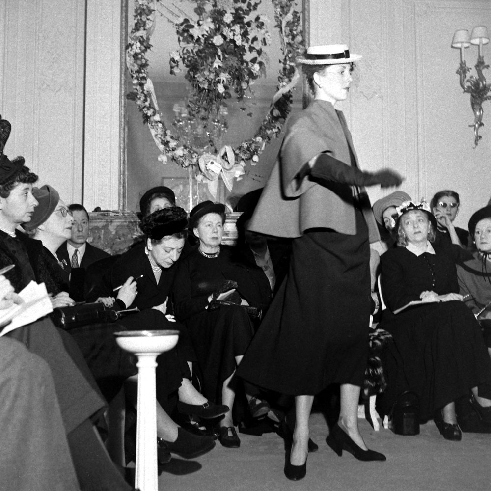 Dior fashion show, Paris, 1948
