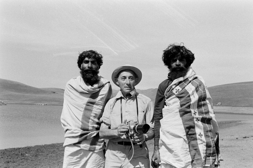 Alfred Eisenstaedt on assignment in India, 1963