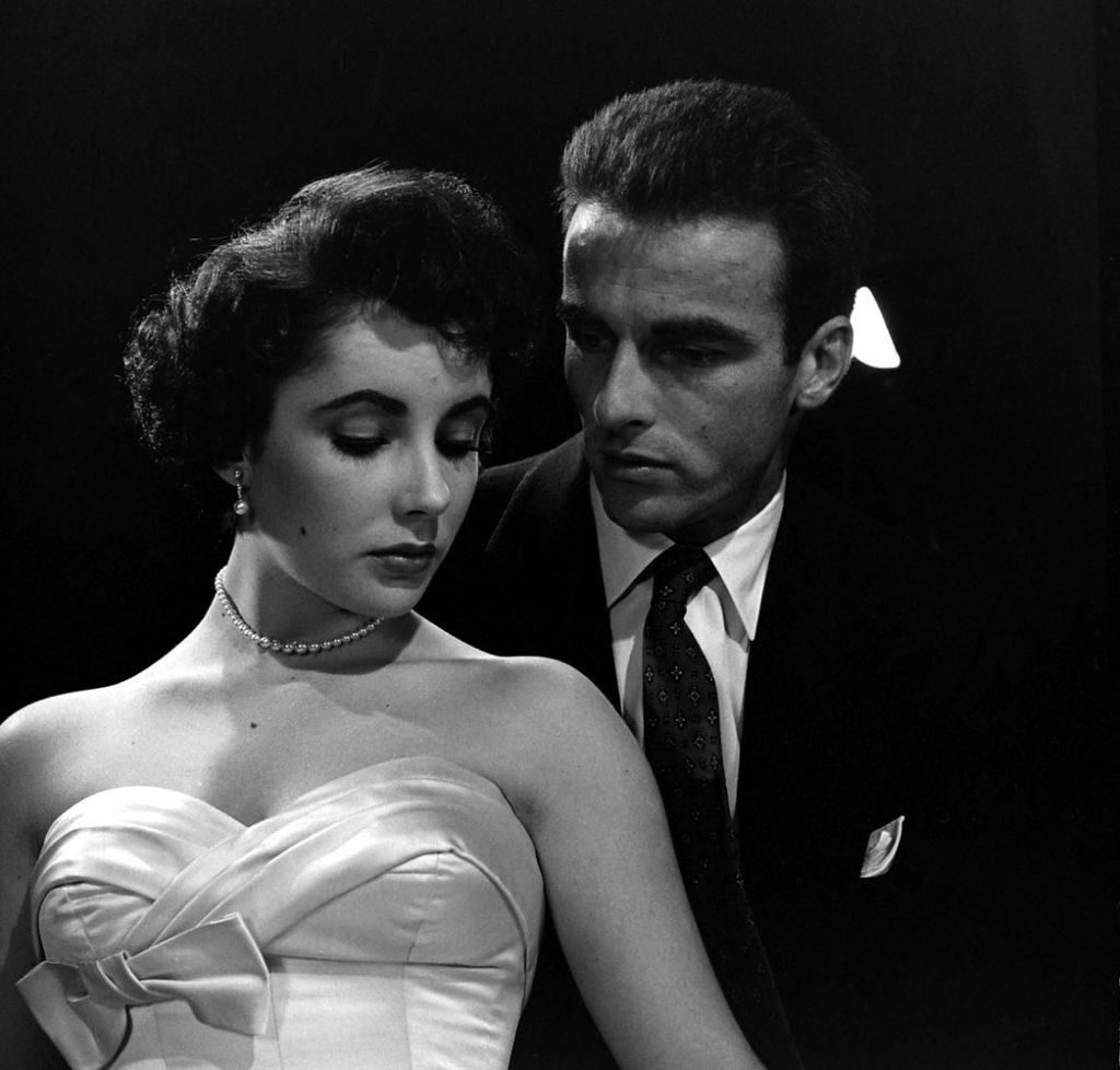 Elizabeth Taylor and Montgomery Clift, Hollywood, 1950.