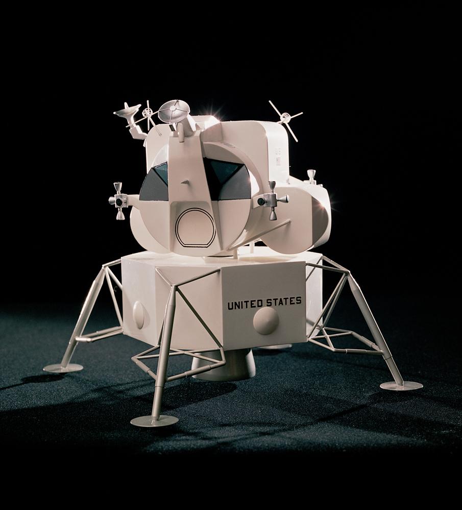 Lunar Module model, 1969