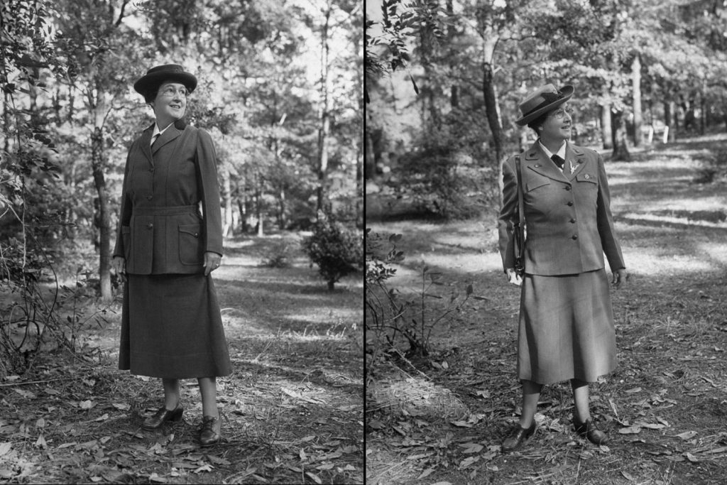 The First American Girl Scout Daisy Gordon Lawrence in 1948