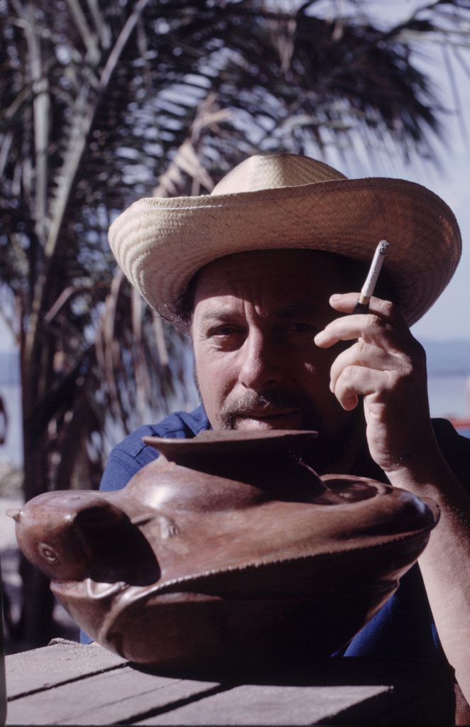Tennessee Williams in Mexico in 1963