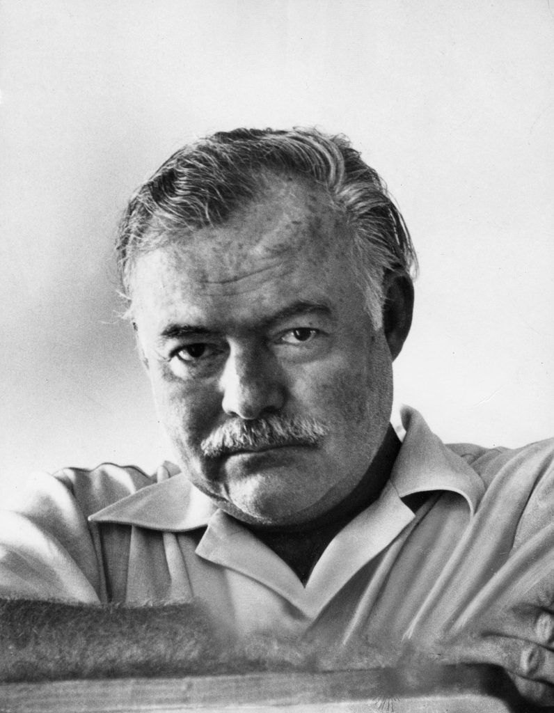 Ernest Hemingway in Cuba in 1952. He was awarded the Nobel in 1954. When LIFE magazine published Hemingway's The Old Man and the Sea, in its entirety, in its September 1, 1952, issue, five million copies of the magazine were sold . . . in two days.