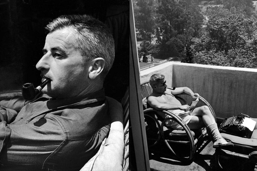 The 1949 Nobel laureate William Faulkner, photographed in Hollywood in 1940.