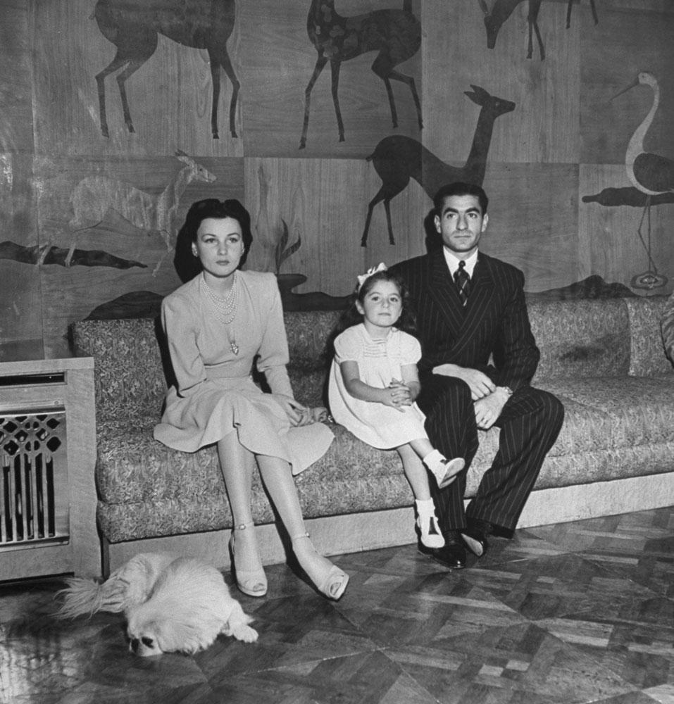 Iranian Shah Mohammed Reza Pahlev, 1945