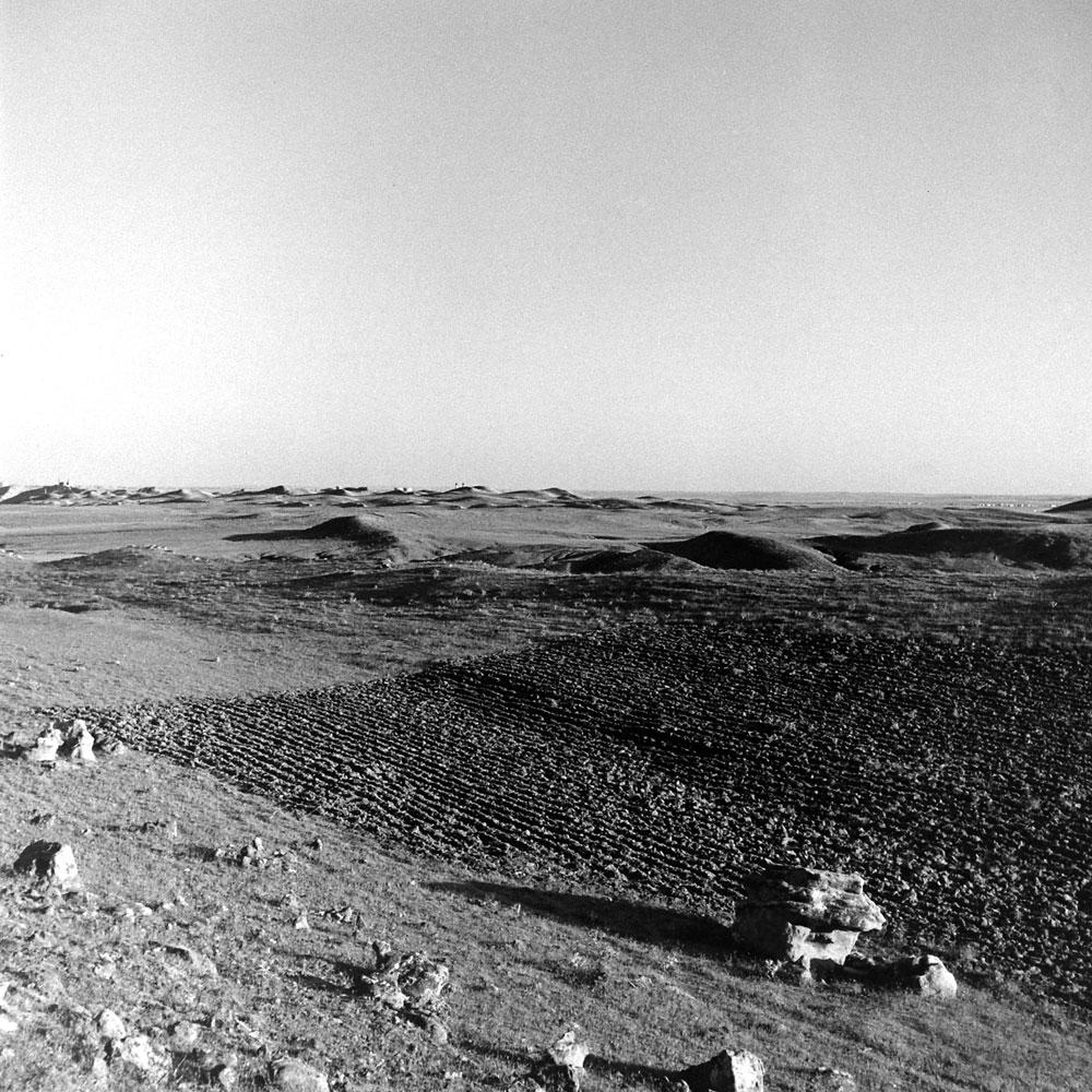 Kirkuk oil fields, Iraq, 1945