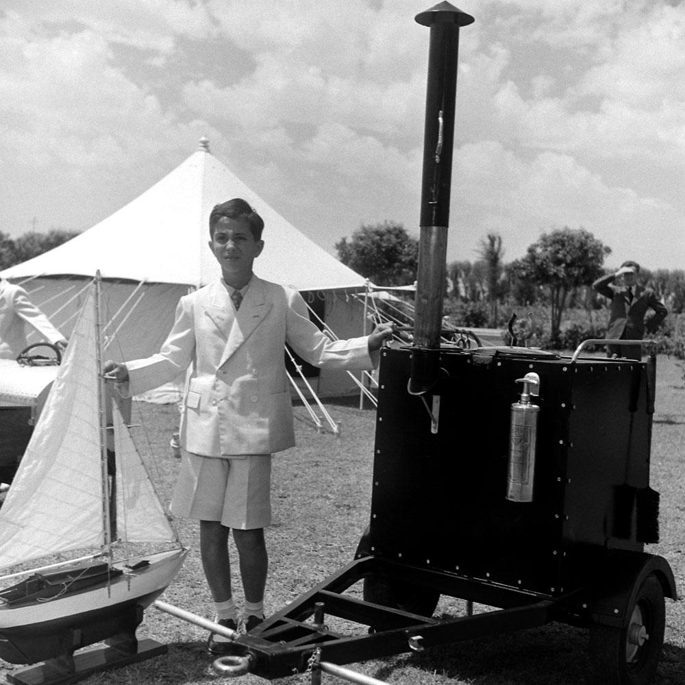 King Faisal, 10 years old, Iraq, 1945