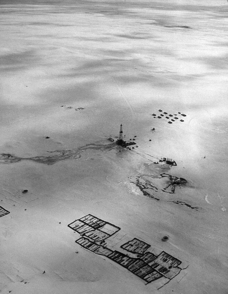 Saudi Arabia oil refinery 1945