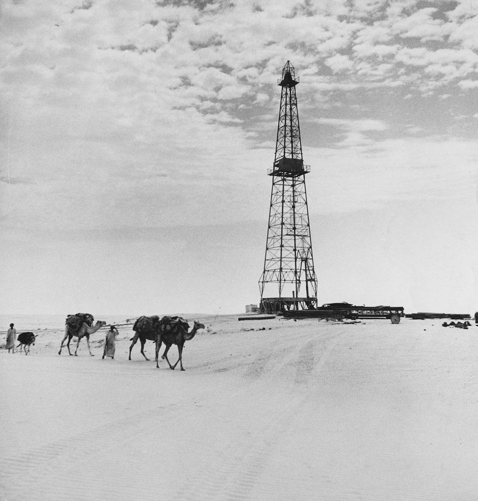 Saudi Arabia, 1945