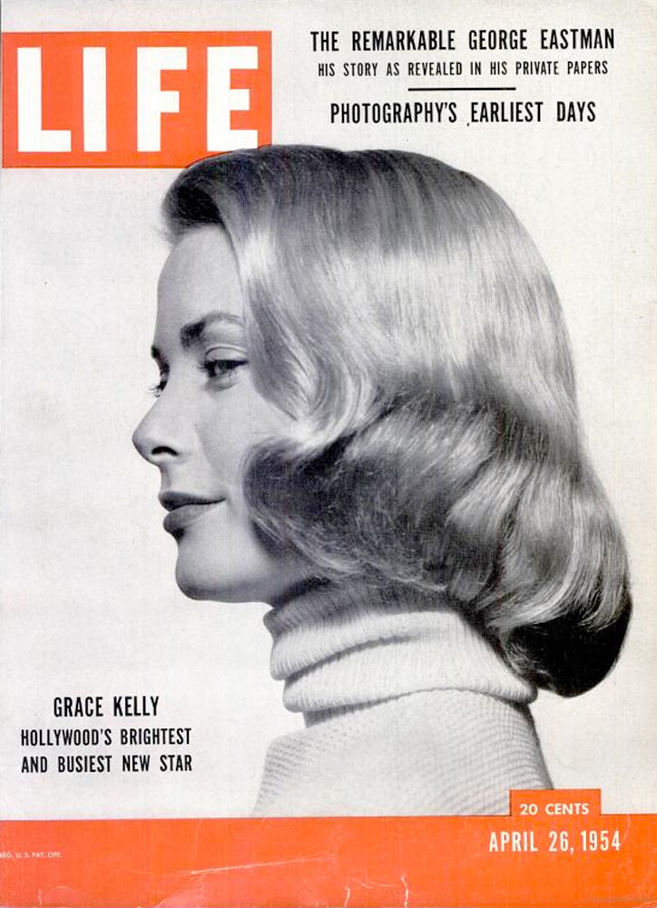 April 26, 1954, cover of LIFE magazine featuring Grace Kelly.