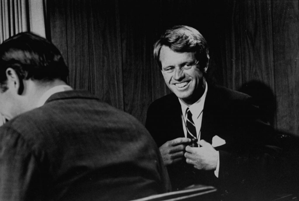Sen. Robert Kennedy, June 1968.