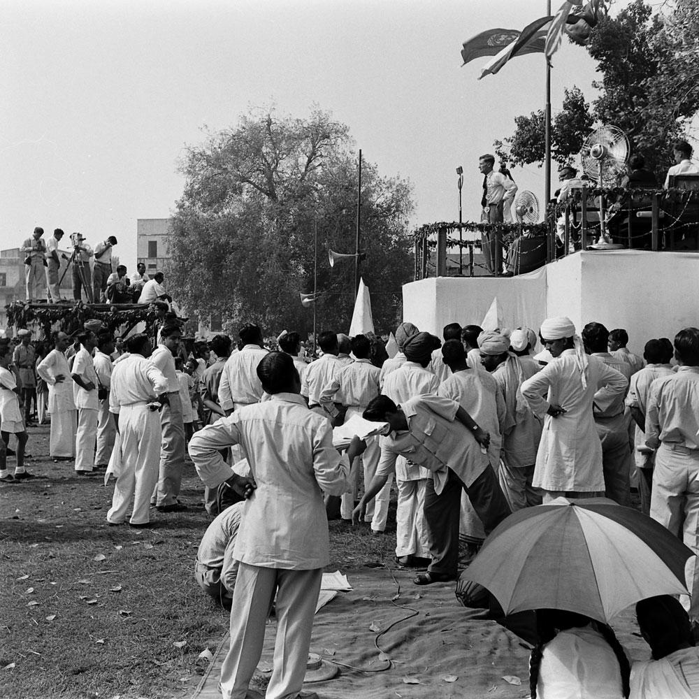 Celebrating Edmund Hillary and Tenzing Norgay, Nepal, 1953.