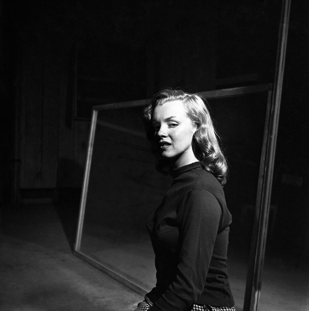 Marilyn Monroe, age 22, Hollywood, 1949.