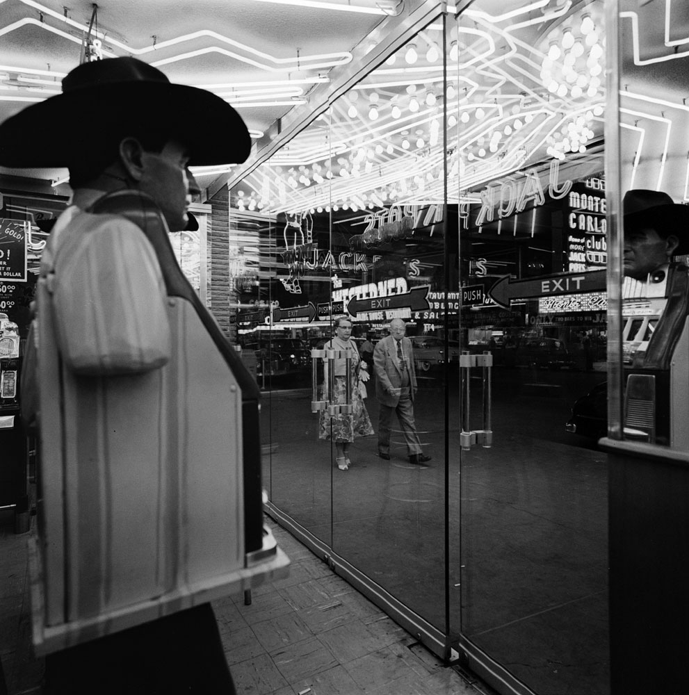 Las Vegas casino, 1955.