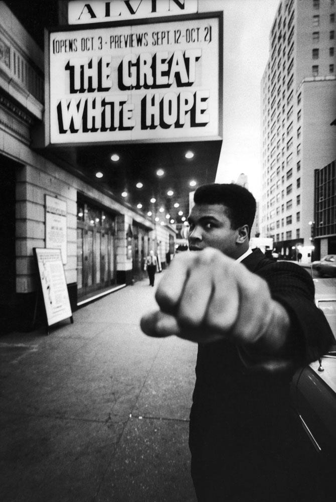 Muhammad Ali in New York City, 1968