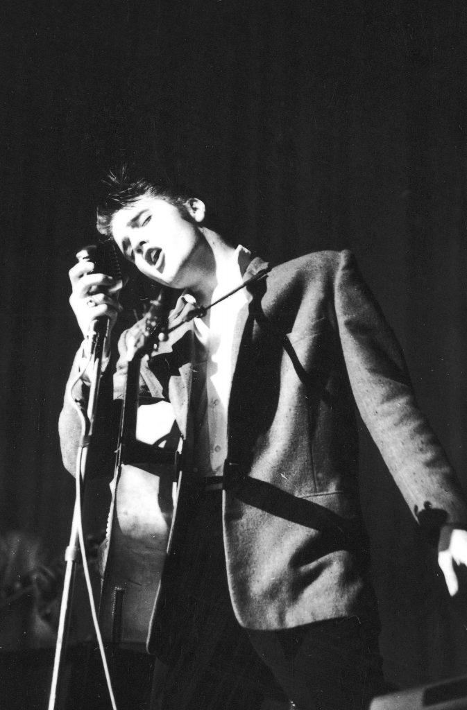 Elvis Presley in Florida, 1956.