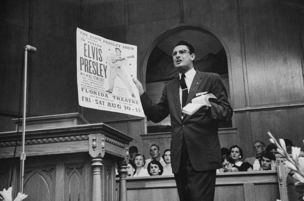 Elvis Presley critic in Florida 1956