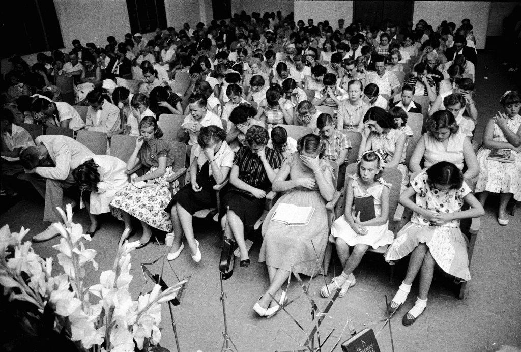 Praying for Elvis Presley in Florida 1956