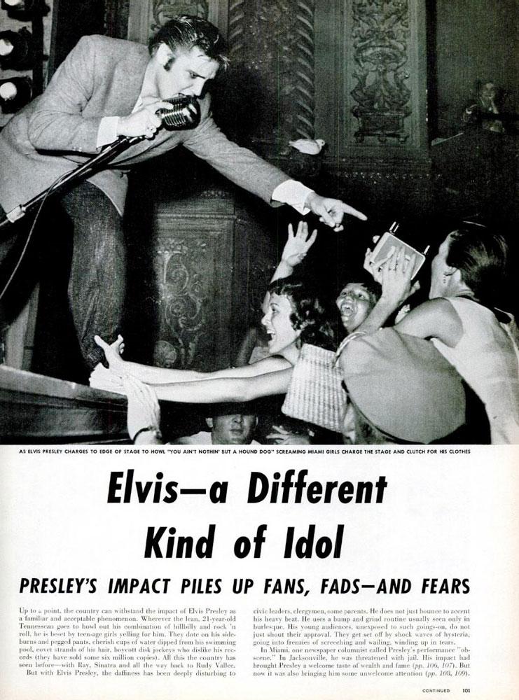 Elvis Presley Life Magazine August 27, 1956