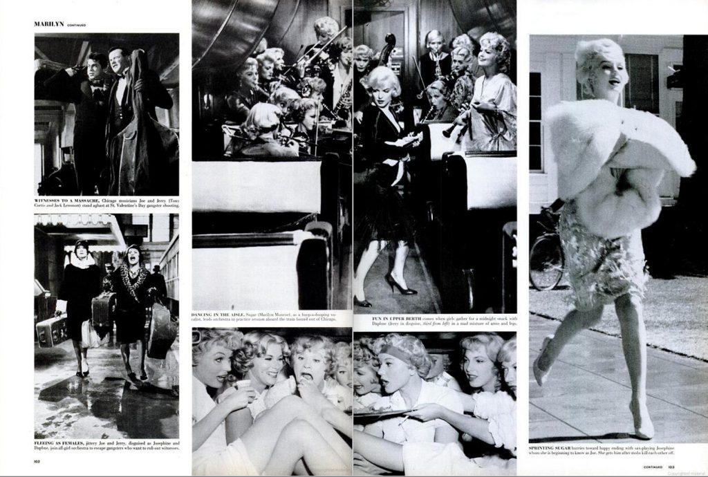Page spreads from the April 20, 1959, issue of LIFE Magazine.
