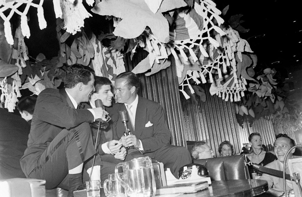 Dean Martin and Jerry Lewis, New York, 1949