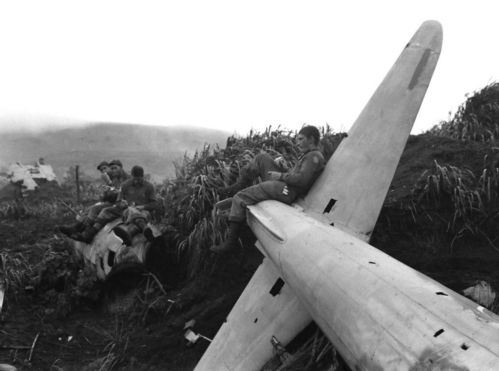 Aleutian Islands Campaign, Alaska, 1943.