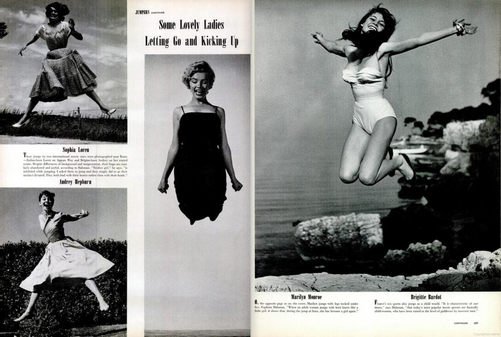 Page spreads from the November 9, 1959, issue of LIFE Magazine.